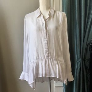 Ana high low blouse